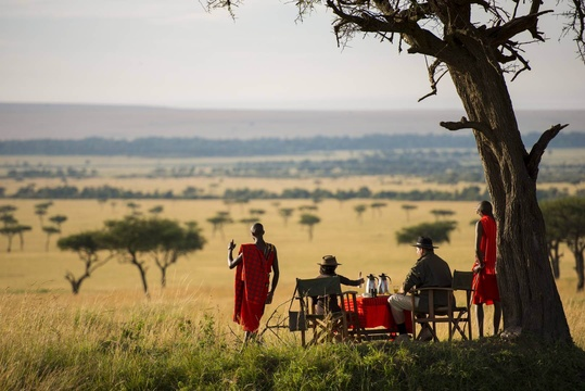 Masai Mara - top safari parks in Africa